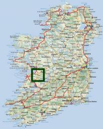 Map Of Ireland Knock.St Colman Mac Duagh Pilgrimage Itinerary Ireland